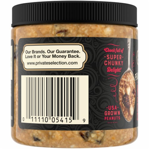 Private Selection White Cherry Cordial Nut Butter Perspective: left