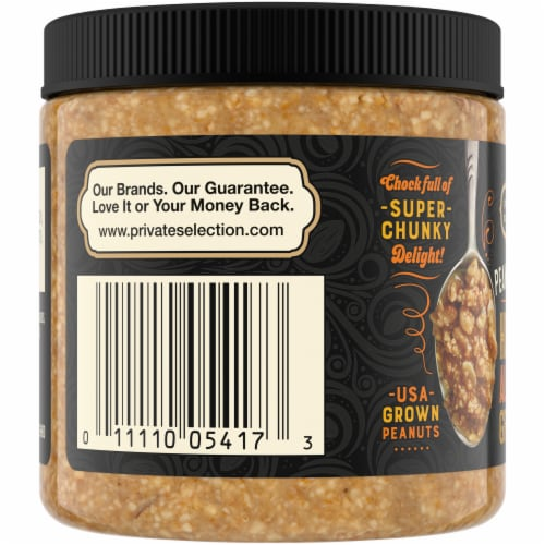 Private Selection Honey Almond Granola Nut Butter Perspective: left