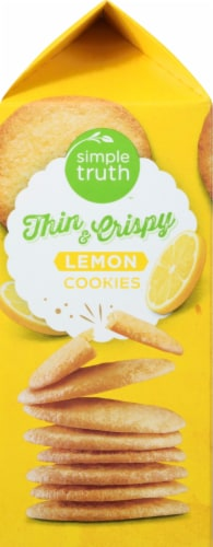 Simple Truth™ Lemon Thin and Crispy Cookies Perspective: left