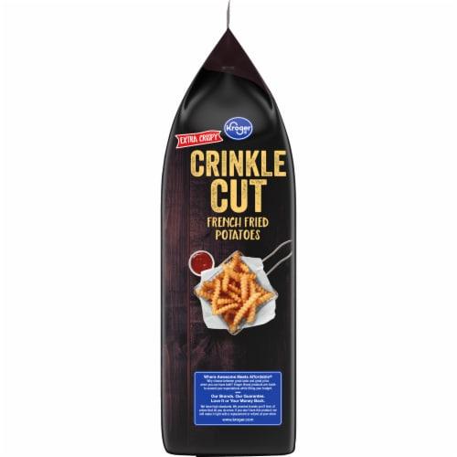 Kroger Extra Crispy Deep Crinkle Cut Fries Perspective: left