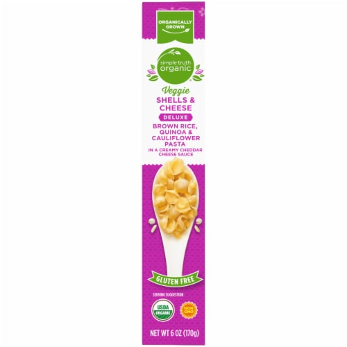 Simple Truth Organic® Deluxe Veggie Shells & Cheese Perspective: left