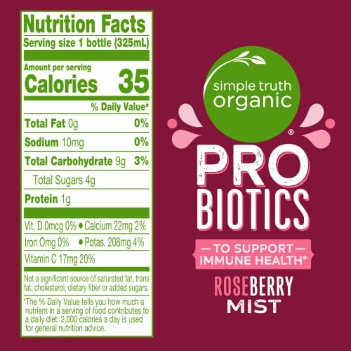 Simple Truth Organic® Roseberry Mist Probiotic Juice Drink Perspective: left
