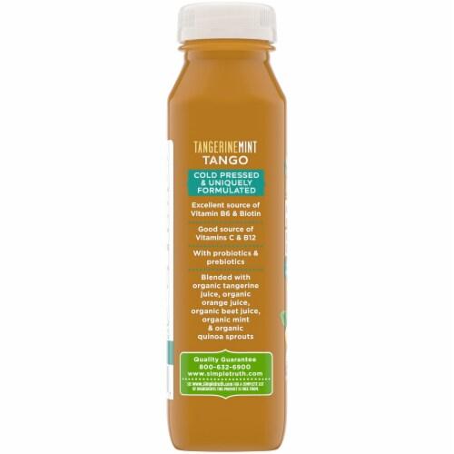 Simple Truth Organic® TangerineMint Tango Probiotic Juice Drink Perspective: left