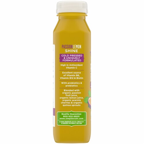 Simple Truth Organic™ PassionLemon Shine Probiotic Juice Drink Perspective: left