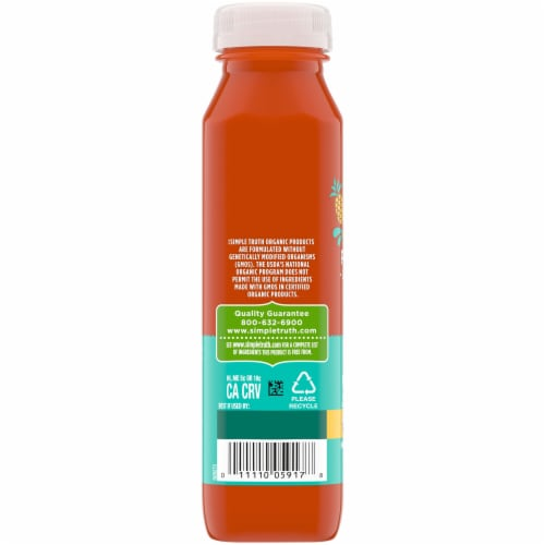 Simple Truth Organic® Cold Pressed Island Blend Juice Perspective: left