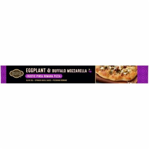 Private Selection Eggplant & Buffalo Mozzarella Rustic Pinsa Romana Frozen Pizza Perspective: left