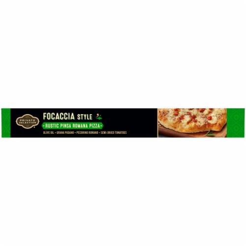 Private Selection Focaccia Style Rustic Pinsa Romana Frozen Pizza Perspective: left