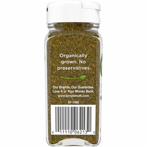 Simple Truth Organic™ Parsley Flakes Perspective: left