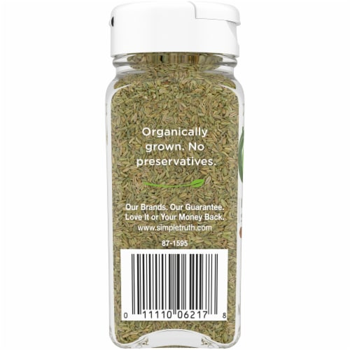 Simple Truth Organic™ Whole Fennel Seed Perspective: left
