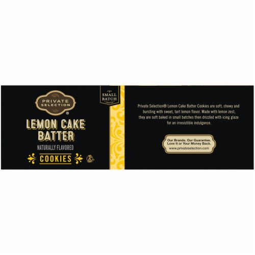 Private Selection® Cake Batter Cookies - Lemon Perspective: left