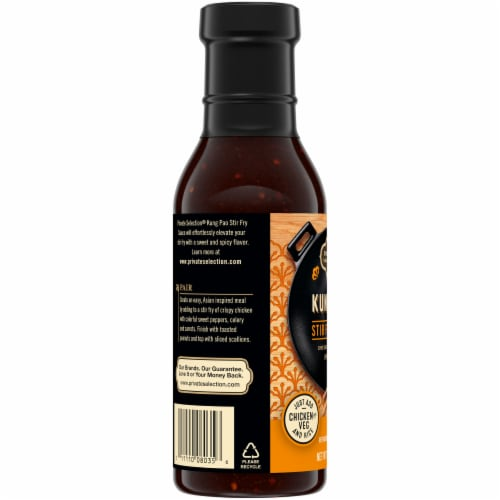 Private Selection® Kung Pao Stir Fry Sauce Perspective: left