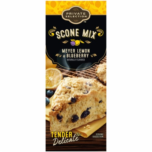Private Selection™ Meyer Lemon & Blueberry Naturally Flavored Scone Mix Perspective: left