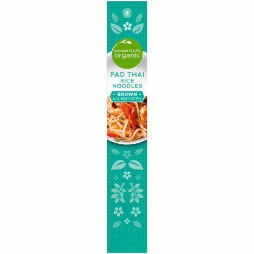 Simple Truth Organic™ Pad Thai Brown Rice Noodles Perspective: left