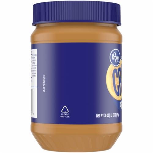 Kroger® Gluten Free Crunchy Peanut Butter Perspective: left