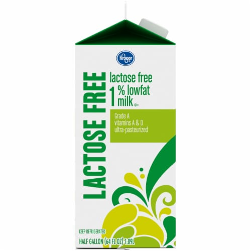 Kroger® Lactose Free 1% Lowfat Milk Perspective: left