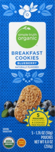 Simple Truth Organic™ Blueberry Breakfast Cookies Perspective: left