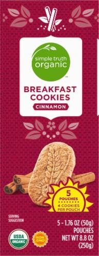 Simple Truth Organic™ Cinnamon Breakfast Cookies Perspective: left