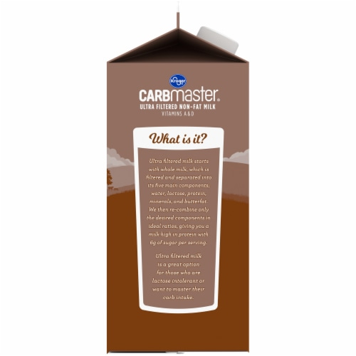 Kroger® CARBmaster® Ultra Filtered Non-Fat Chocolate Milk Perspective: left
