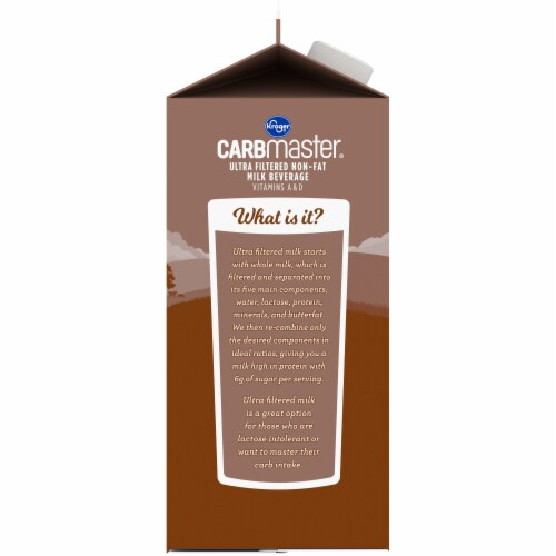 Kroger® CARBMaster® Lactose Free Non-Fat Chocolate Milk Perspective: left