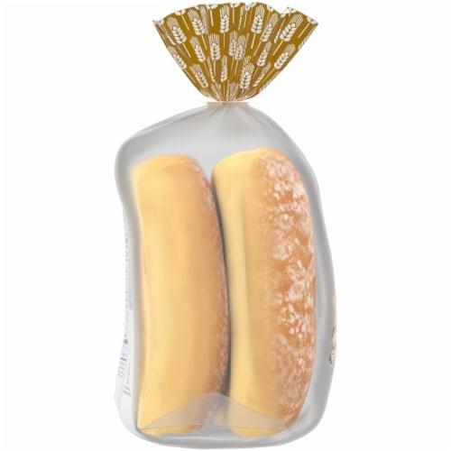 Kroger® Potato Hot Dog Buns Perspective: left