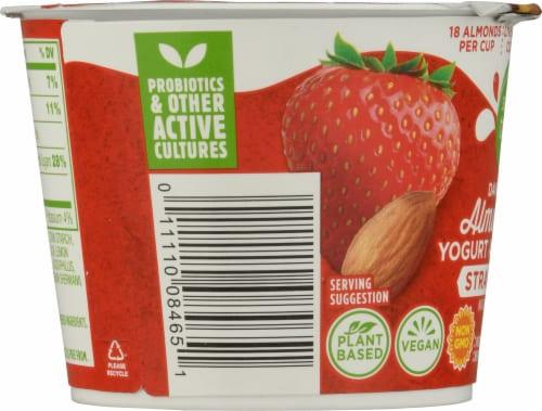 Simple Truth™ Dairy Free Almondmilk Strawberry Yogurt Alternative Perspective: left