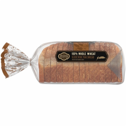 Private Selection™ 100% Whole Wheat Bread Perspective: left