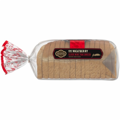 Private Selection® Honey Wheatberry Wide Pan Bread Perspective: left
