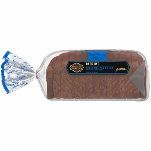 Private Selection® Dark Rye Wide Pan Bread Perspective: left