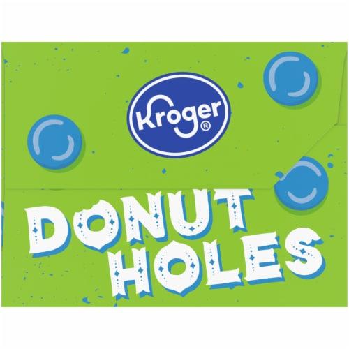 Kroger® Powdered Sugar Donut Holes Perspective: left
