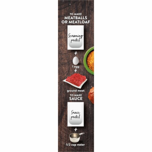 Kroger® Season & Sauce Ancho Chile with Rojo Mole Meatball & Meatloaf Kit Perspective: left