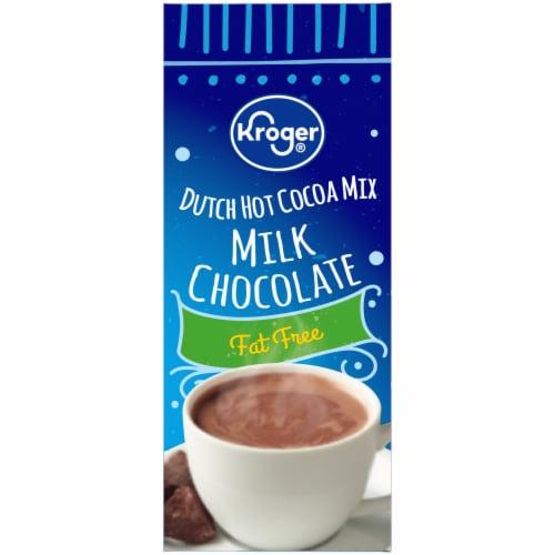 Kroger® Fat Free Milk Chocolate Dutch Hot Cocoa Mix Perspective: left