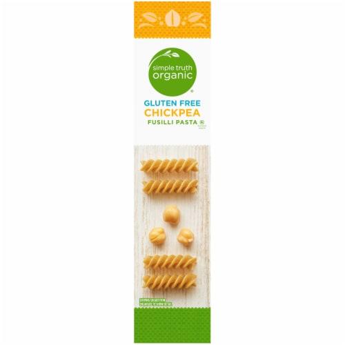 Simple Truth Organic® Gluten Free Chickpea Fusilla Pasta Perspective: left