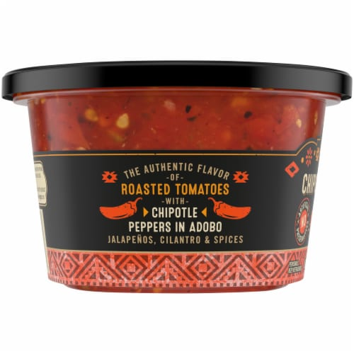 Private Selection® Medium Chipotle Pepper Salsa Perspective: left
