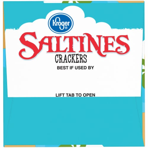 Kroger® Original Saltines Crackers Perspective: left