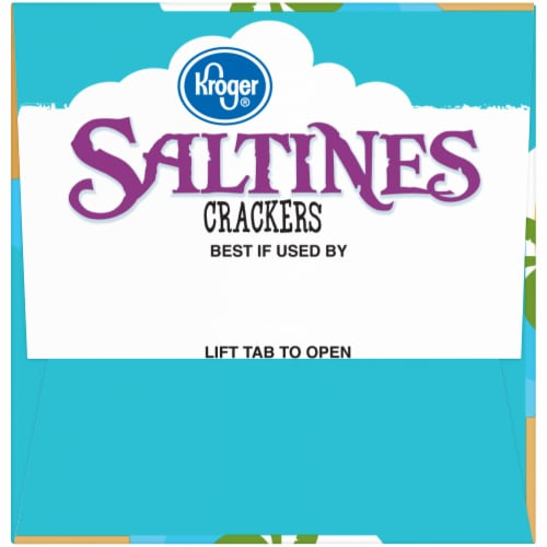 Kroger® Unsalted Tops Saltines Crackers Perspective: left