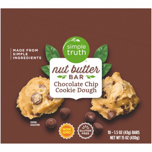 Simple Truth™ Chocolate Chip Cookie Dough Nutter Butter Bar Perspective: left