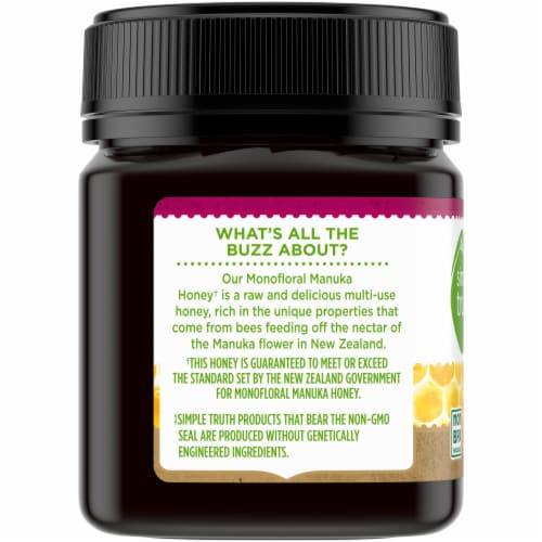 Simple Truth® Monofloral Raw Manuka Honey Perspective: left