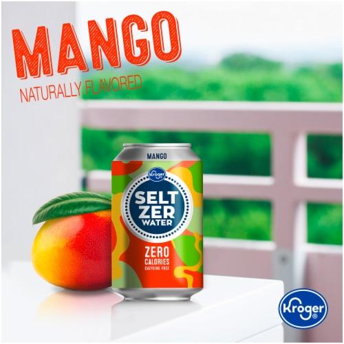 Kroger® Mango Seltzer Water Perspective: left