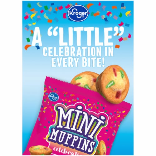 Kroger® Celebration Mini Muffins Perspective: left