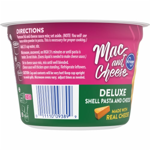 Kroger® Deluxe Shells and Cheese Single Serve Cup Perspective: left