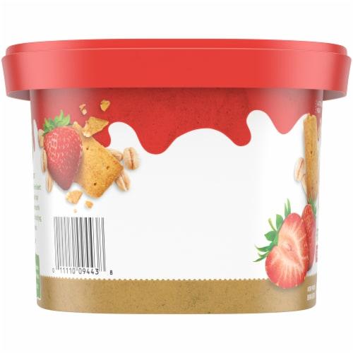 Simple Truth Oatmilk Frozen Dessert - Strawberry Graham Perspective: left