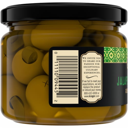 Private Selection® Jalapeno Stuffed Green Olives Perspective: left