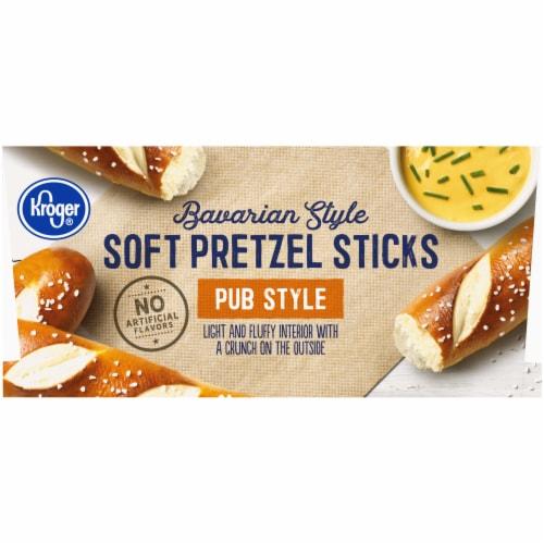 Kroger Bavarian Style Soft Pretzel Sticks Perspective: left