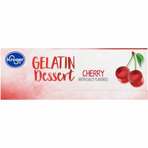 Kroger® Cherry Gelatin Dessert Mix Perspective: left