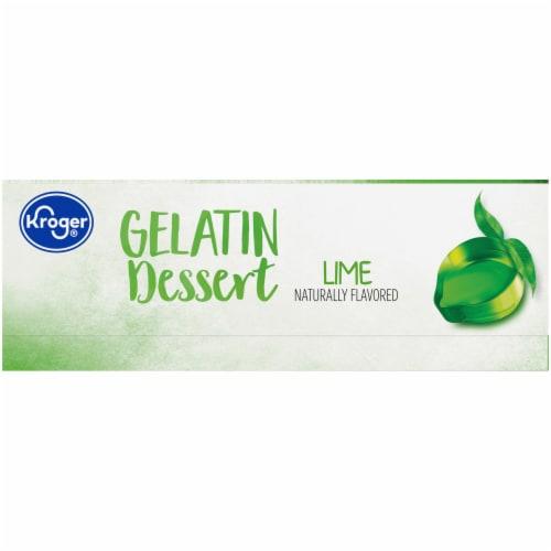 Kroger® Lime Gelatin Dessert Mix Perspective: left