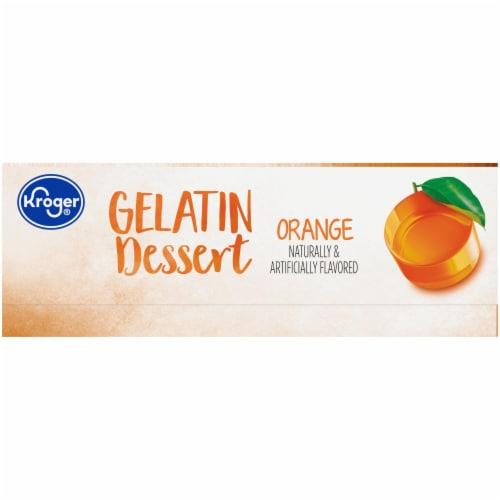 Kroger® Orange Gelatin Dessert Mix Perspective: left