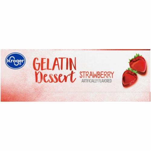 Kroger® Strawberry Gelatin Dessert Mix Perspective: left