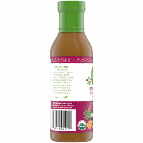 Simple Truth Organic® Balsamic Salad Dressing Perspective: left