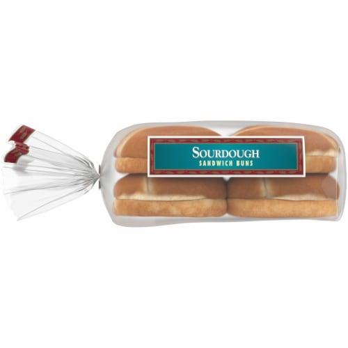 Western Hearth Sourdough Sandwich Buns Perspective: left