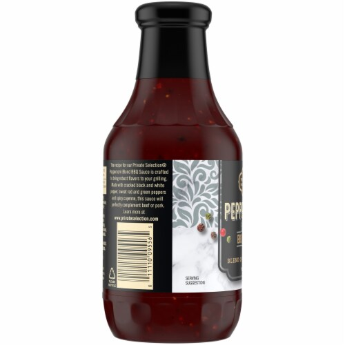 Private Selection® 5 Peppercorn Blend Barbecue Sauce Perspective: left